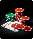 7 card stud poker hi/lo